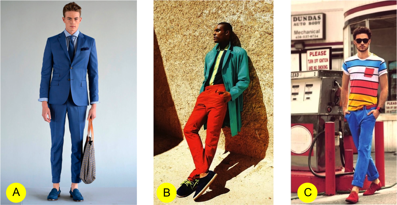 There Are Three Techniques To Styling A Color Blocked Outfit Select One Monochromatic Throughout Entire In Different Hues