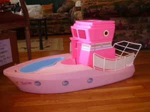 barbie boat vintage