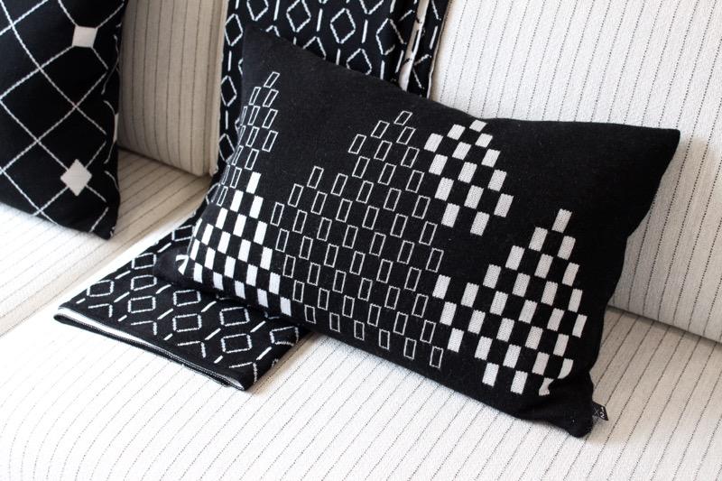 Mustavalkoiset tekstiilit