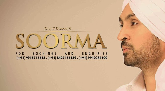 soorma diljit new song wallpaper