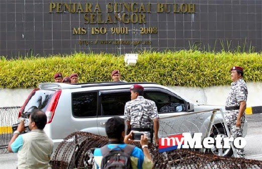 SEJARAH GAMBAR GAMBAR Perjalanan Anwar Ke Penjara Sungai Buloh