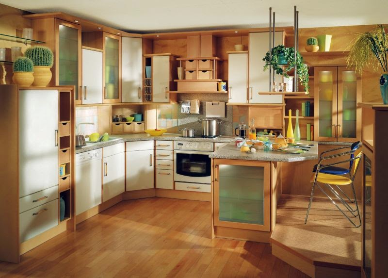 Contemporary Kitchen Room Style decoration