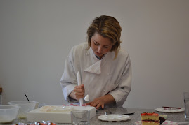 Peggy Porschen in her cake studio in London.