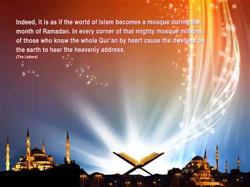 Free Download Hd Ramadan Wallpaper: Ramadan Picture With Quote In English