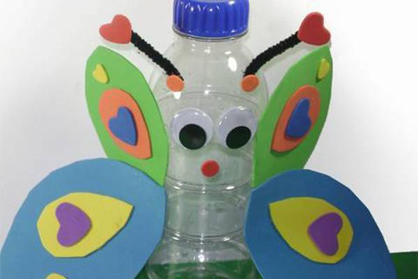 Water Bottle Butterfly Craft