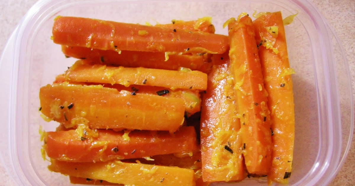 Peng's Kitchen: Braised Carrots with Orange & Rosemary