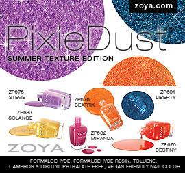 Zoya Nail Polish: PixieDust Summer