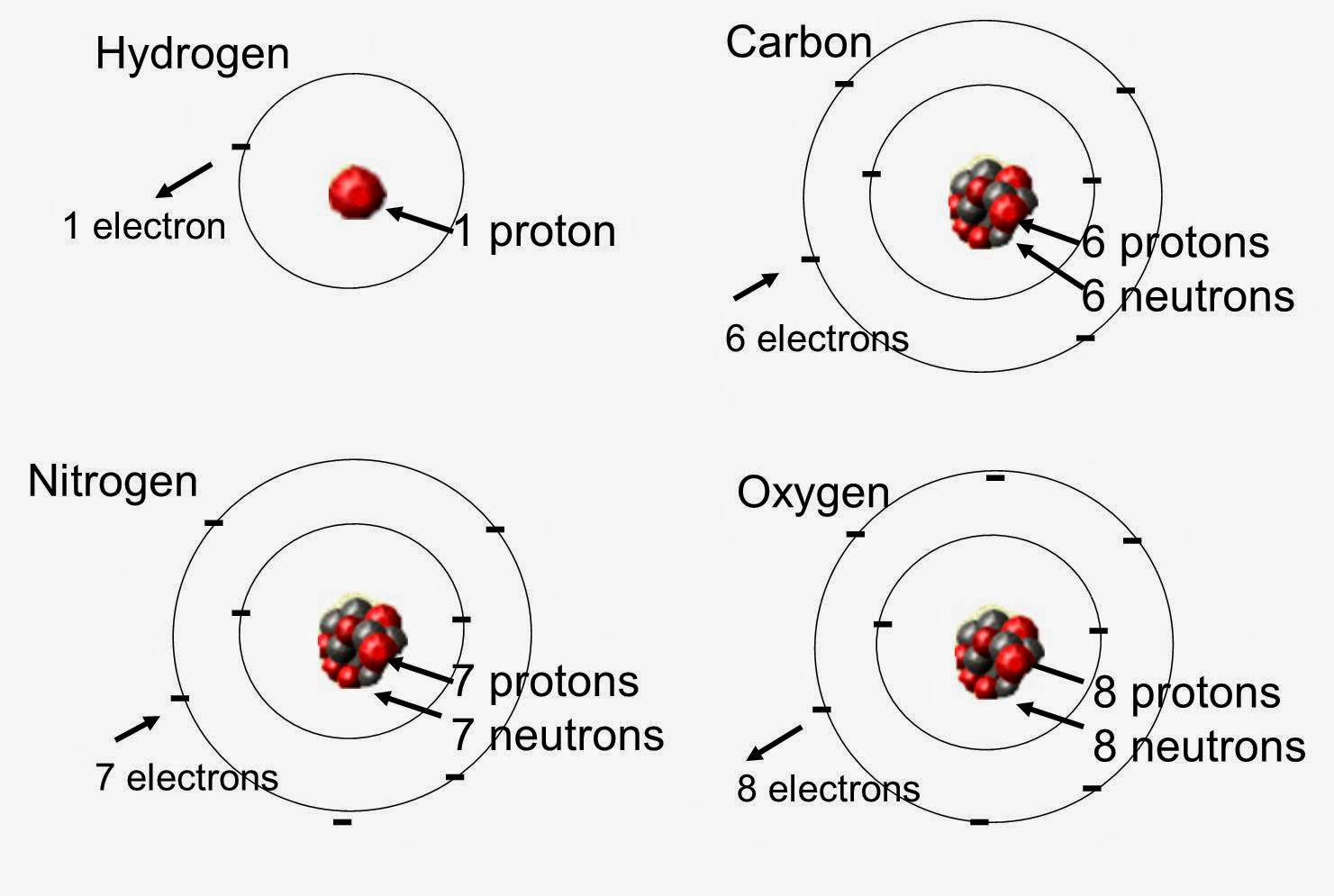 Science reason and logic rule chon for Earth elements organics