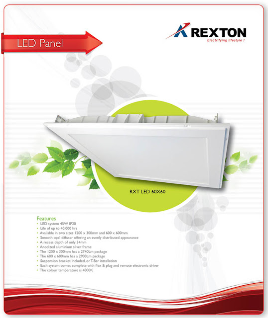 60 x 60 LED Panel by Rexton Technologies