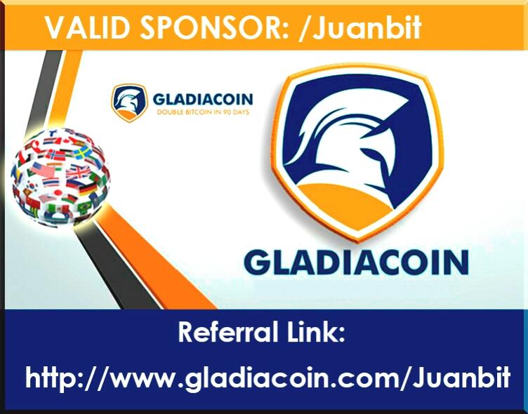 Gladiacoin link de registro
