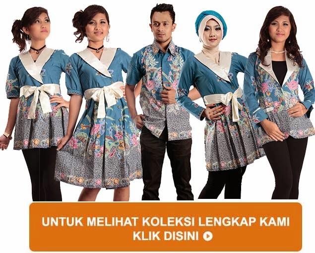 Kumpulan Model Baju Batik Modern Terbaru 2015 Trend
