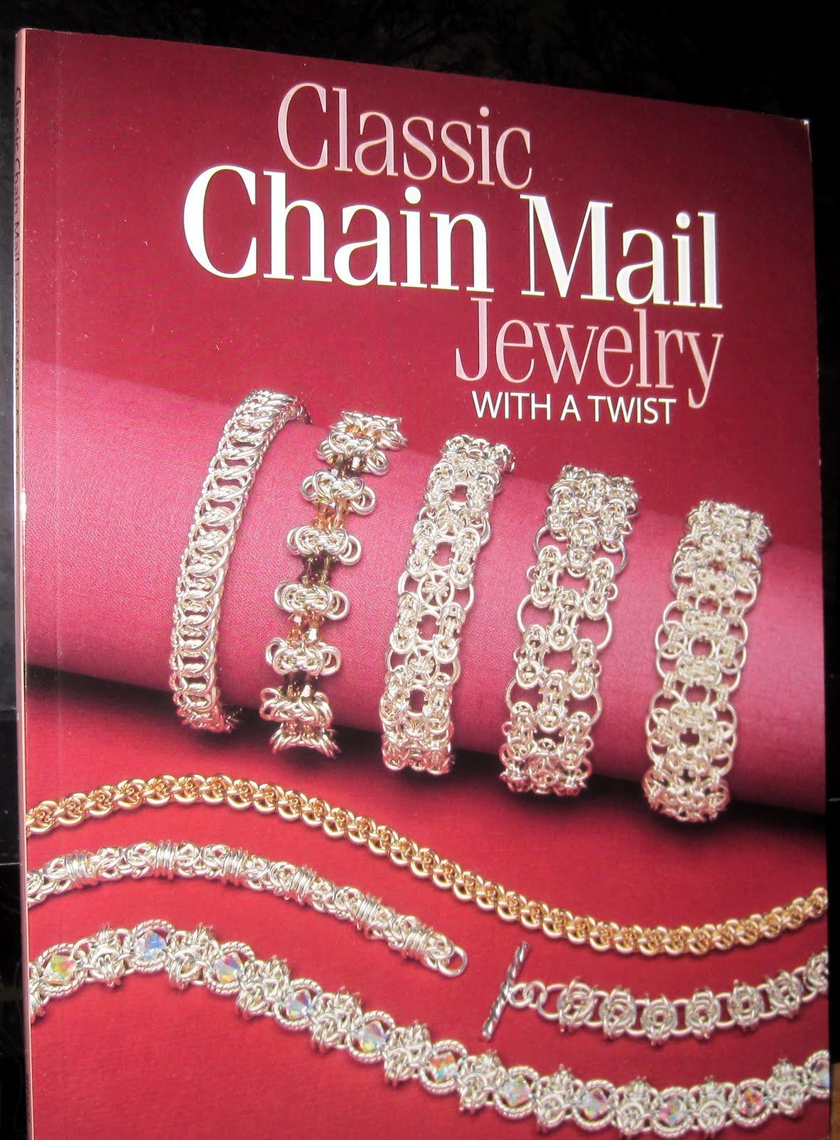 fiddledeedee jewelry classic chain mail jewelry with a