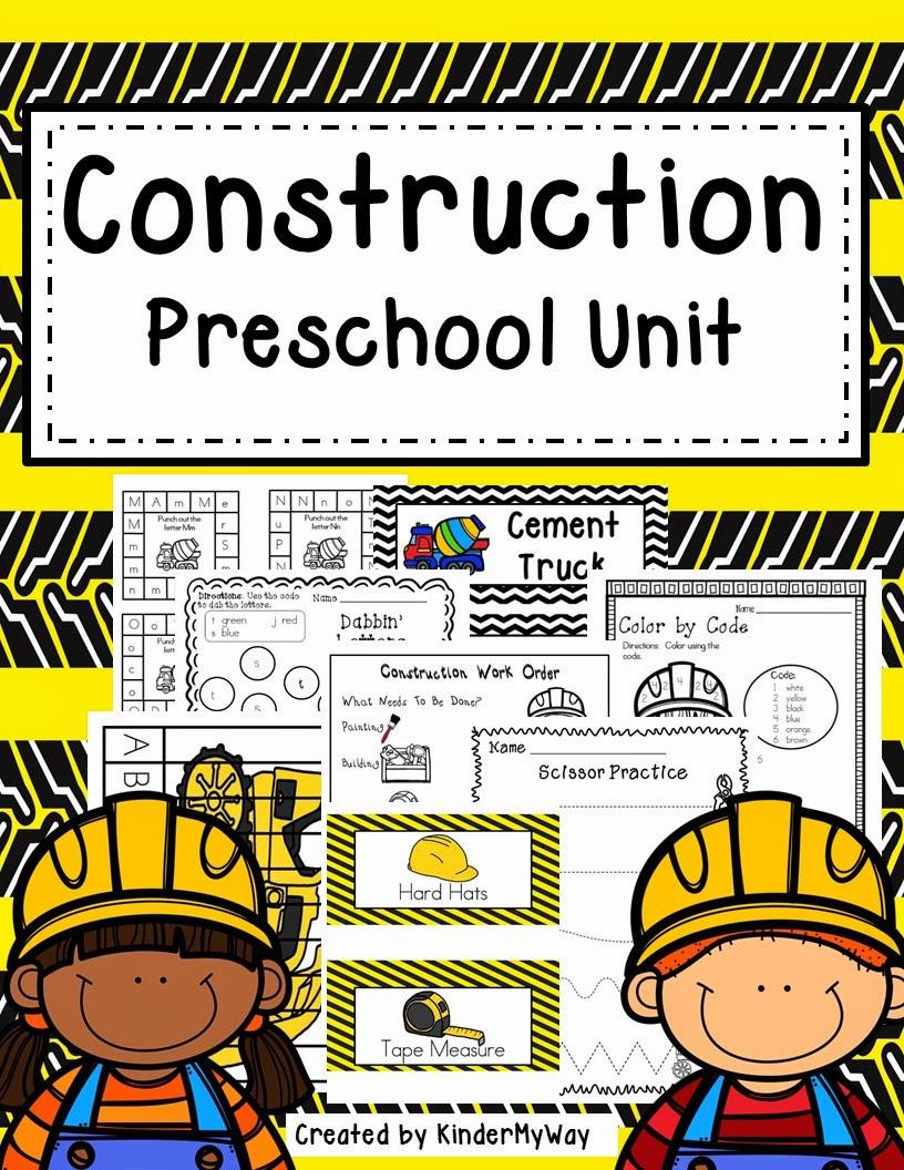 construction activities for preschoolers the best of entrepreneurs iii construction unit 318