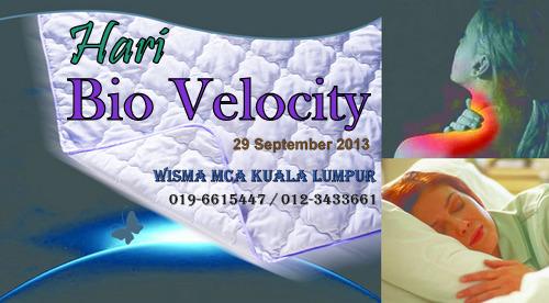 Hari Bio Velocity pada 29.09.13 di Wisma MCA Kuala Lumpur