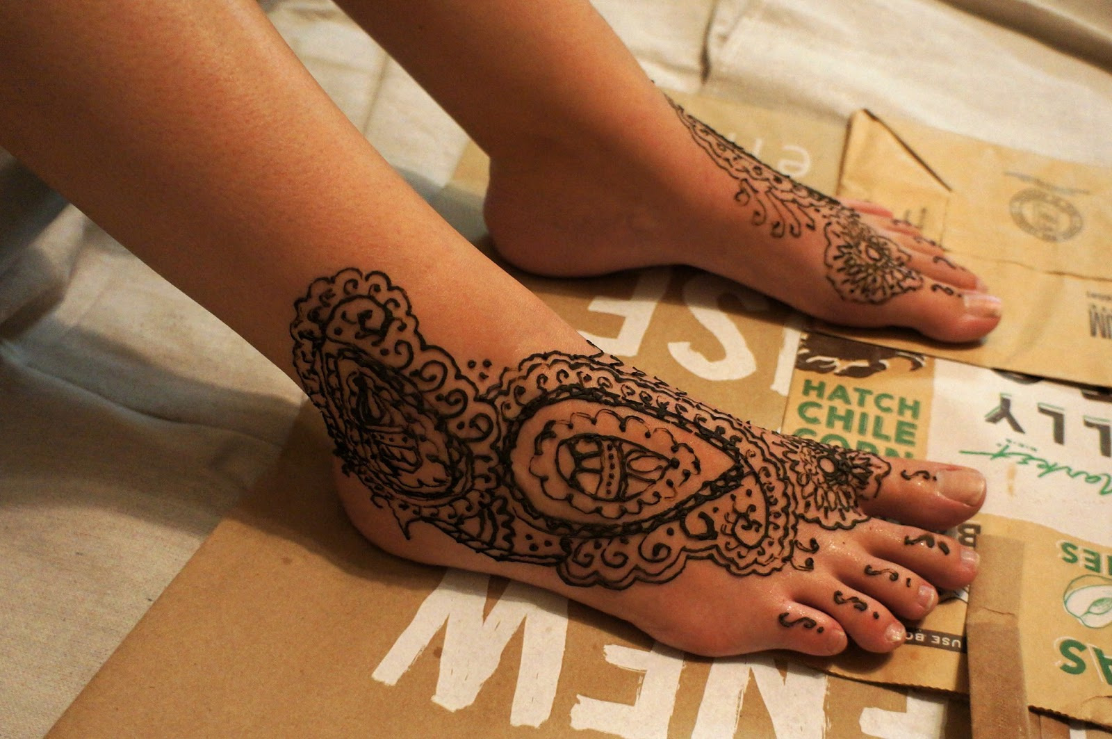 365 Days Of Pattern Henna Patterns