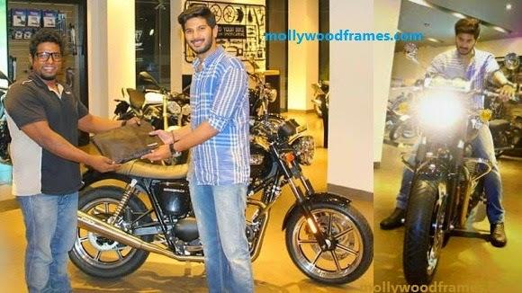 Dulquar Salman new bike 'Triumph Bonneville'