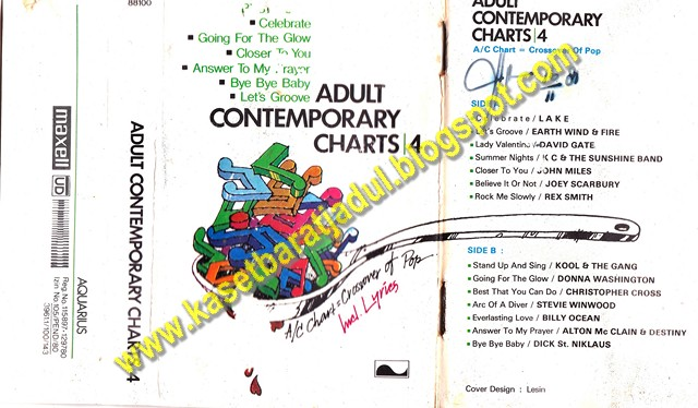 1998 adult contemporary charts
