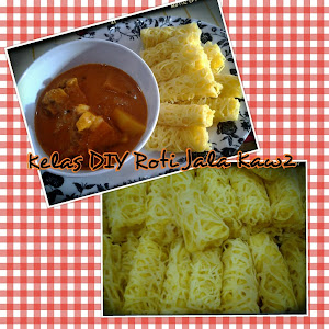 Kelas DIY Roti Jala & Kari Ayam Kaw2 RM200 [ percuma kuali n acuan ajaib ]