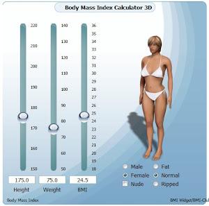 Calcola il tuo BMI in 3D!