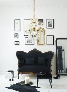 Goth Bedroom Minimalist Design The Everyday Goth Gothic Gold Decor