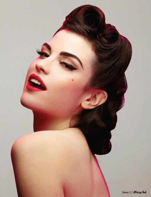 Amazing 16 Cool Rockabilly Long Pin Up Hair
