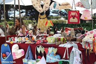 Fotografia da feira de Belém