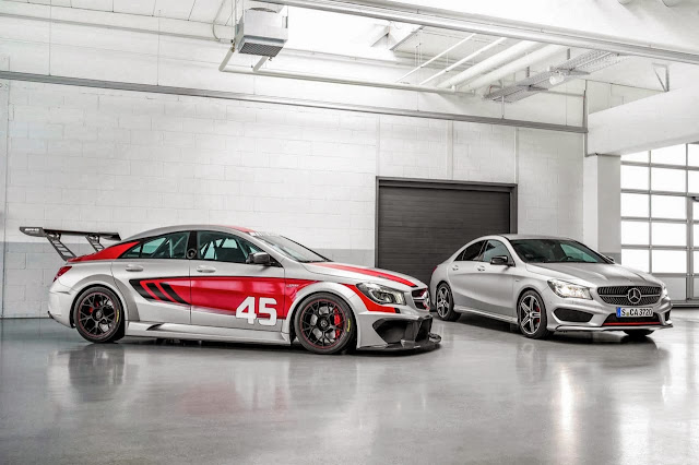Mercedes-Benz CLA45 AMG Racer and CLA250 Sport: CLA-Class Gets Mean