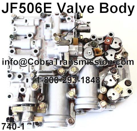cobra transmission parts     jfe valve body