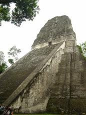 El soberbio Templo V de Tikal