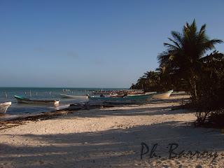 paysages du Mexique Sian Ka'an plage blog photo voyage Yucatan