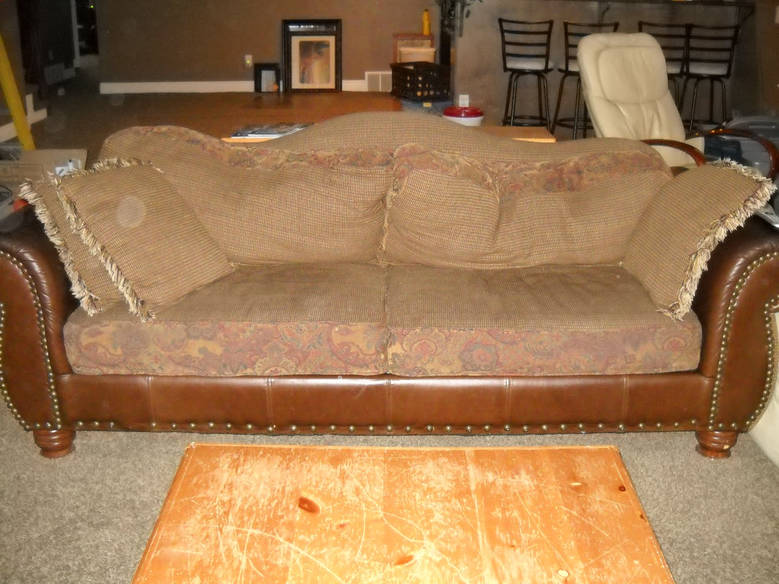 Uncomfortable Couch