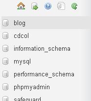 Gambar 3 Nama Database Terbentuk