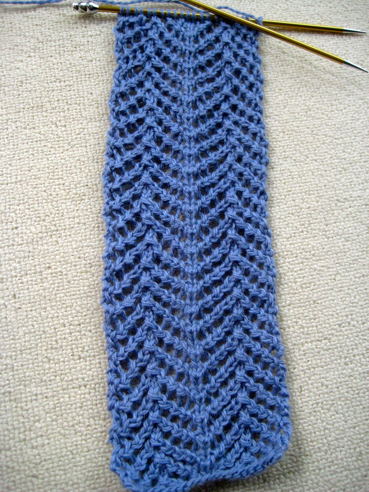 DestiKNITions: Knit Along: Angora Lace Scarf from Lion Brand Studio ...
