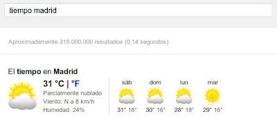 google-tiempo
