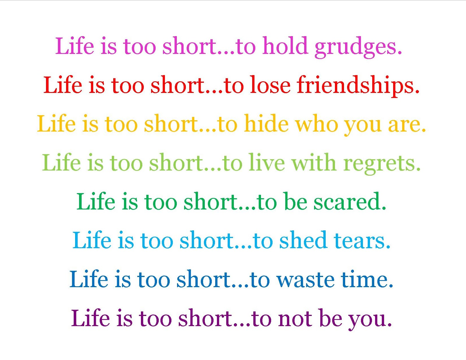 Short Life Quotes Life Is Short Memories Quote  Inspiring Quotes And Words In Life