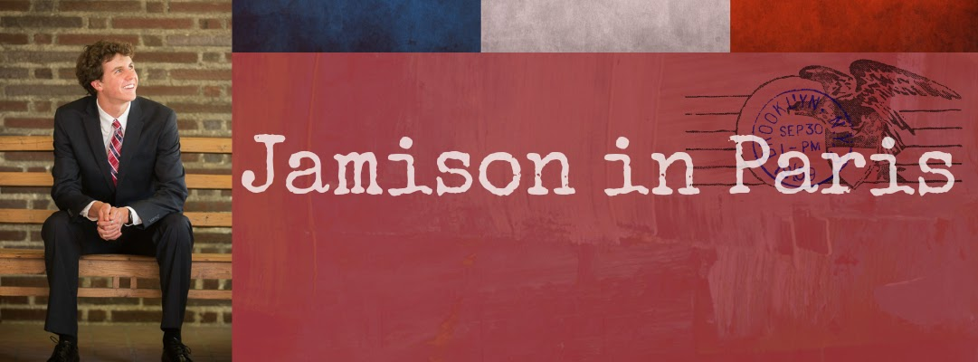 Jamison in Paris