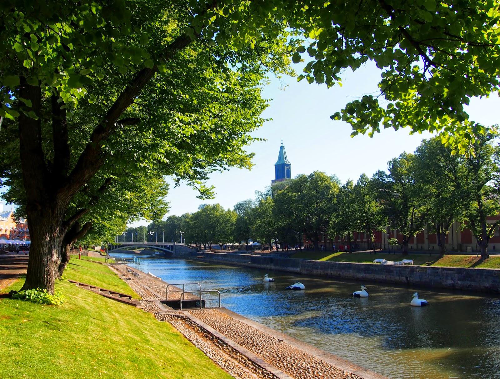 Turku in southern Finland