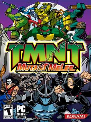 Free Download Games - Teenage Mutant Ninja Turtles Melee