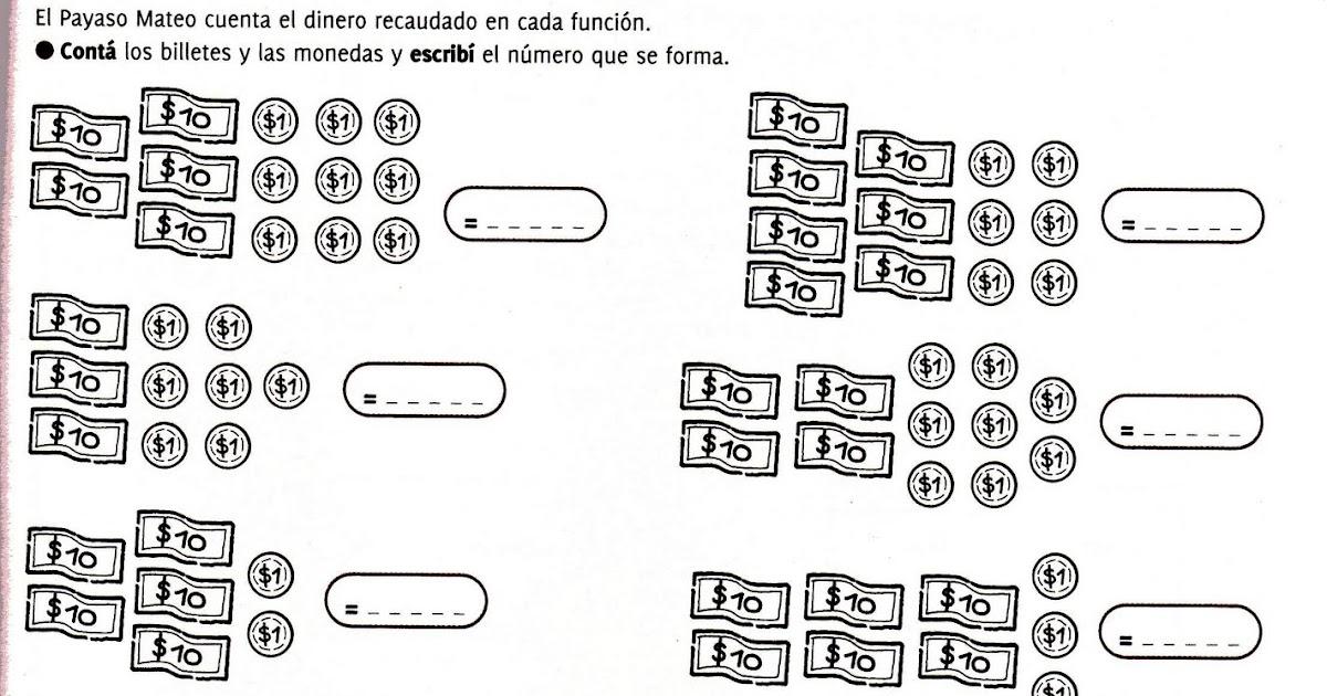Aula Seño Sory...: Sistema monetario argentino para niños. Actividades