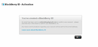 Cara Membuat Blackberry ID OM KRIS Blog 1