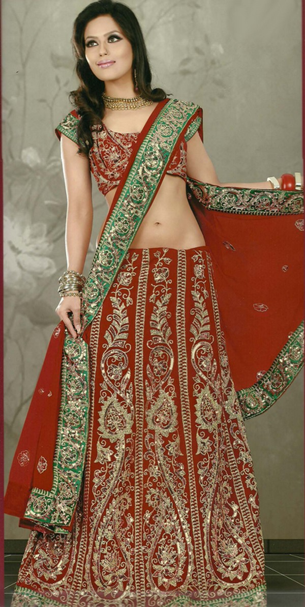 Wedding dress for indian bride for Punjabi wedding dresses online