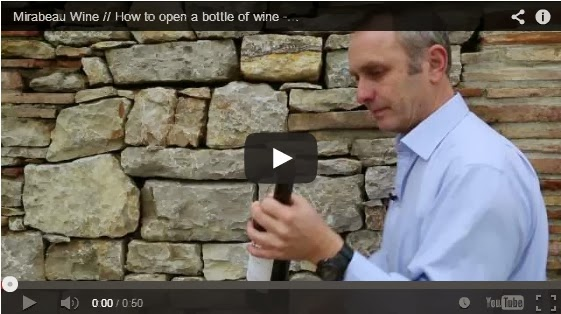 how to open red wine without corkscrew