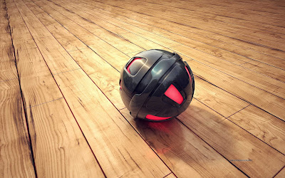 3D Sphere Wide Wallpaper