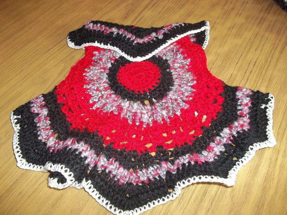 tejidos lu chalecos redondos al crochet para ni as