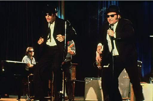 Brian vs movies the blues brothers for 1980s house music