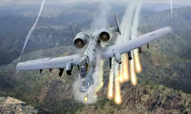 ΕΚΤΑΚΤΟ: Κατάρριψη αμερικανικού A-10 Thunderbolt στην Β.Συρία (εικόνες)