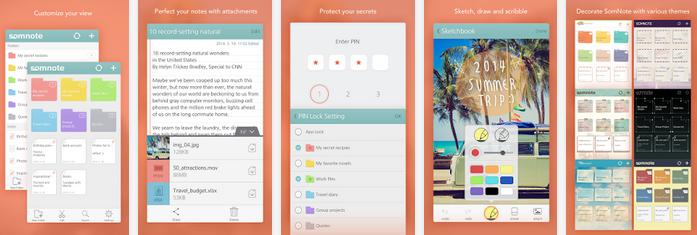 SomNote - Aplikasi Note Android Terbaik