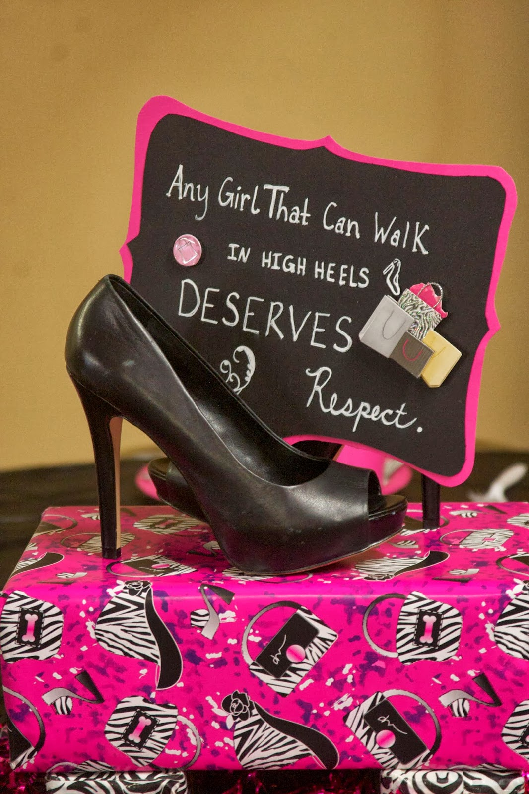 It's a Beautiful Life!: Of High Heels & Surprise Parties
