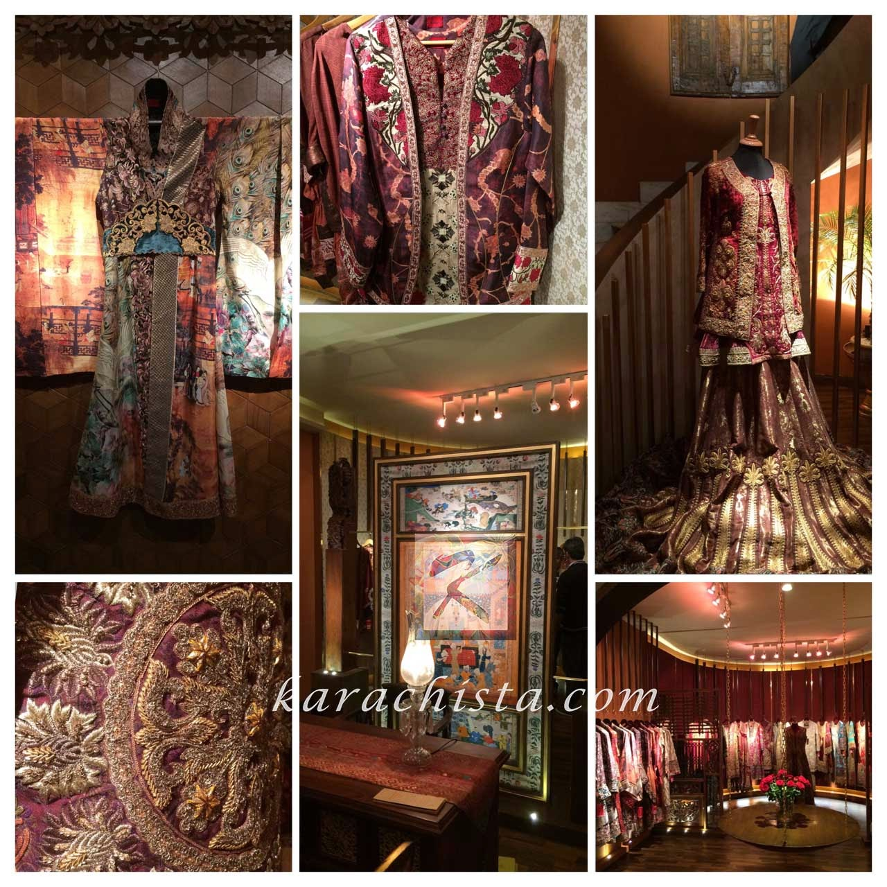 House of Shamaeel ready to wear Pakistani fashion