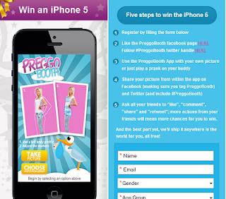 PreggoBooth iPhone 5 Contest